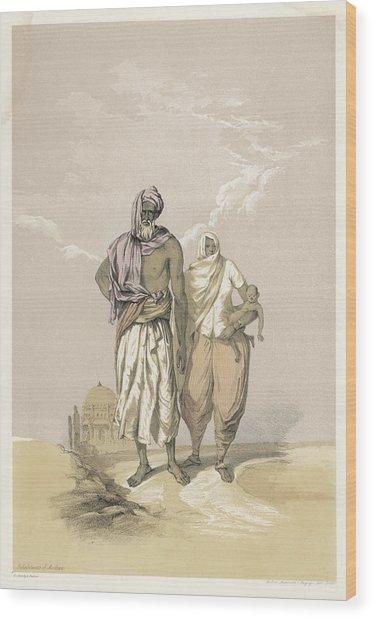 Inhabitants Of Mooltan (aka  Multan) - Wood Print by Mary Evans Picture Library