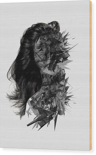 Inner Silence Wood Print