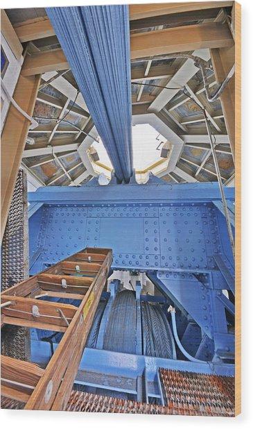 Inner Tower Wood Print