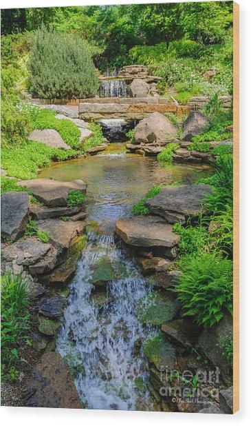 Inniswood Metro Park Photo Wood Print