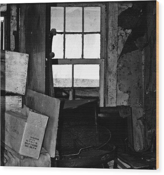 Inside Abandonment 2 Wood Print