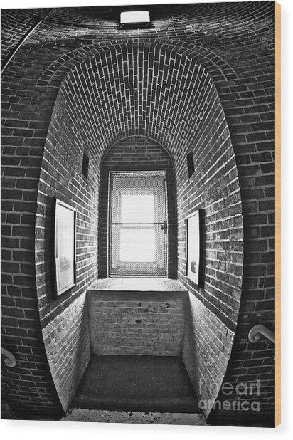 Inside Barney Wood Print