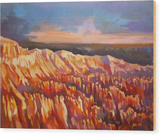Inspiration Point - Bryce Canyon Wood Print by Filip Mihail