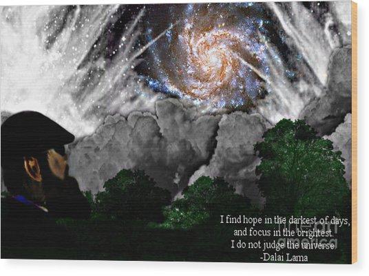 Inspirational #1 Wood Print