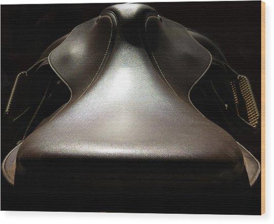 Instrumental Curves Wood Print