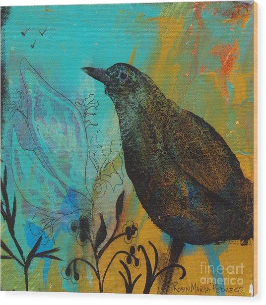 Interlude Wood Print