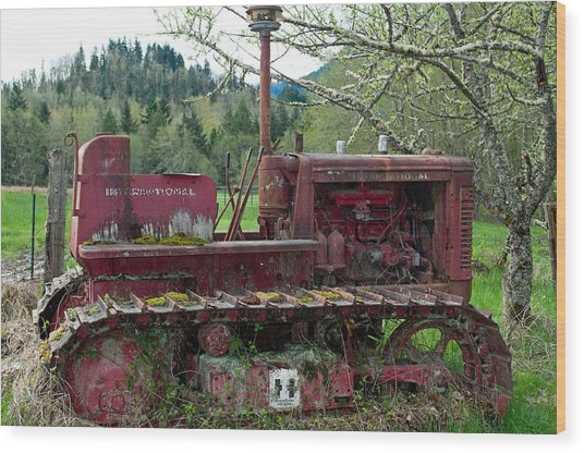 International Harvester Wood Print