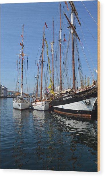 International Sailing Festival In Bergen Norway 2 Wood Print