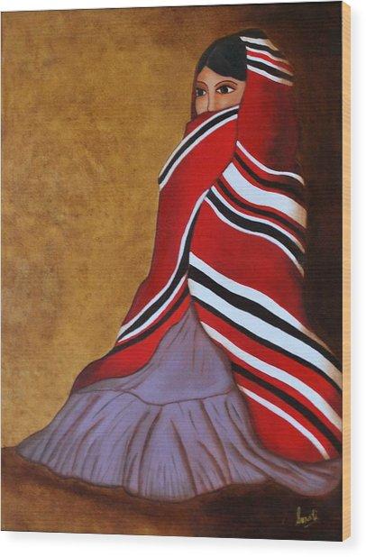 Introspection Wood Print