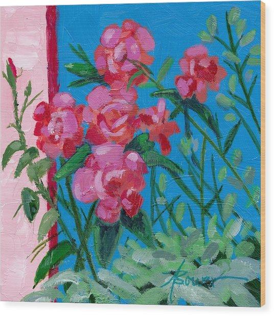 Ioannina Garden Wood Print