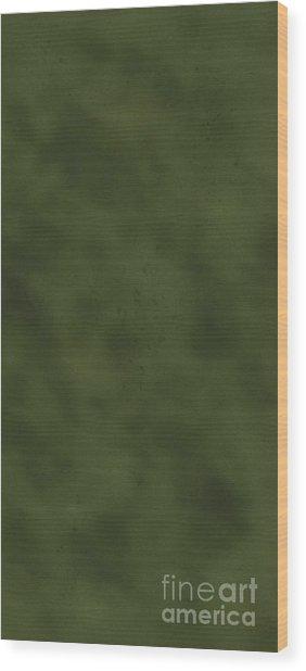 iPhone Green Olive Drab Wood Print