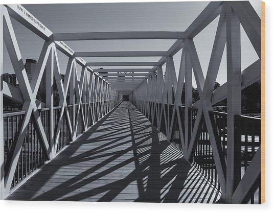 Irene Hixon Whitney Bridge  Mono Wood Print