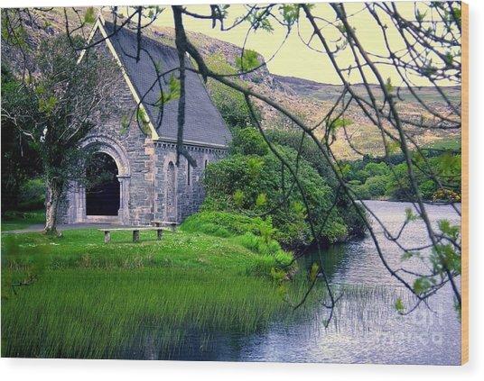 Irish Chapel Wood Print