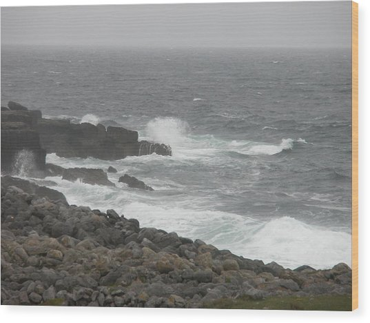 Irish Coast Wood Print