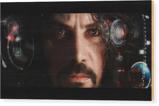 Iron Man... Wood Print