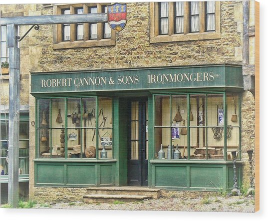 Ironmongers In Candleford Wood Print