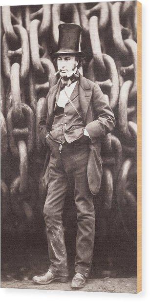 Isambard Kingdom Brunel  Wood Print