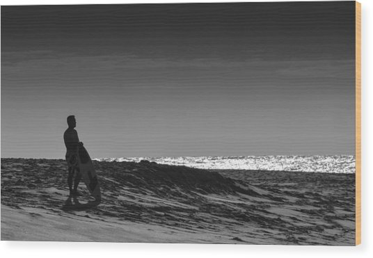 Island Surfer  Wood Print