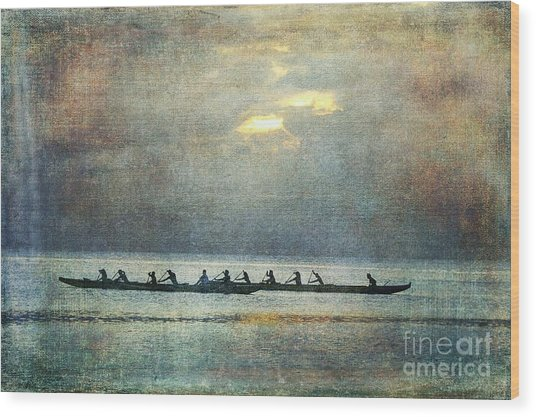 Island Traditions Wood Print by Scott Cameron