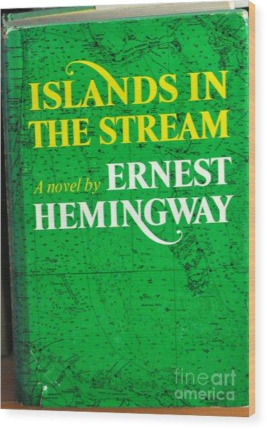 Islands In The Stream Wood Print