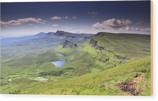 Isle Of Skye   Scotland Wood Print