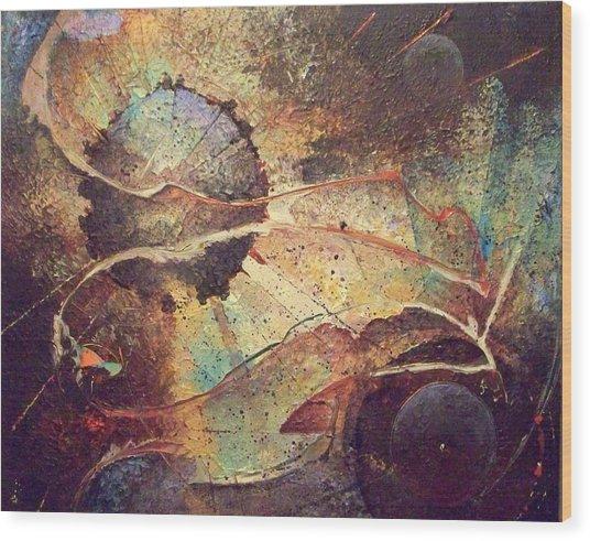 It Is It Is Not Wood Print by Fred Wellner