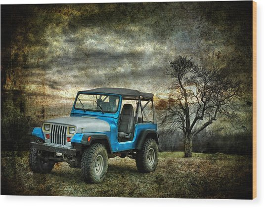 It's A Jeep Thing Wood Print