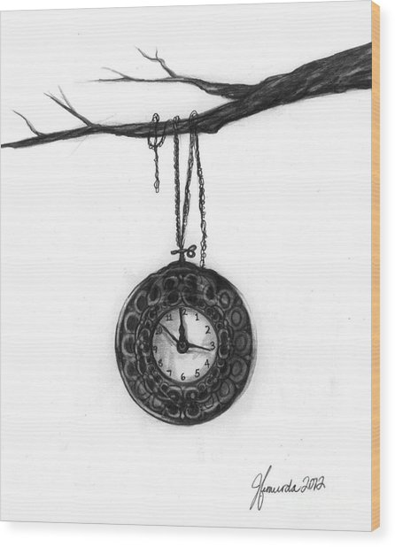 Its Your Time Wood Print