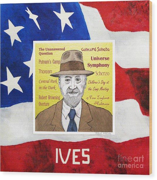 Ives Wood Print by Paul Helm