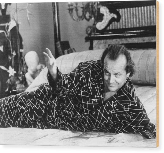 Jack Nicholson In The Witches Of Eastwick  Wood Print