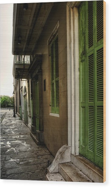 Jackson House Toward Jackson Square Wood Print