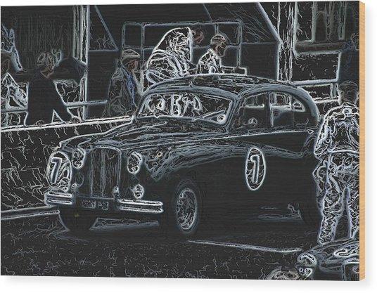Jaguar Markvii 1952 Wood Print