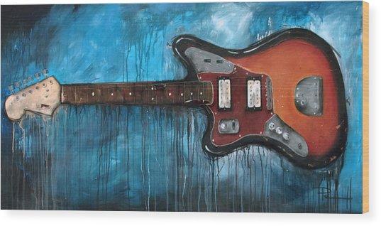 Jaguar Nirvana Wood Print