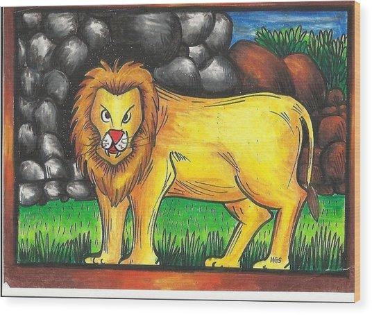 Jai 2 Wood Print by Jai Ganesh