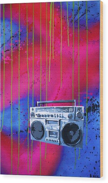 Jamboxxx Wood Print by Bobby Zeik