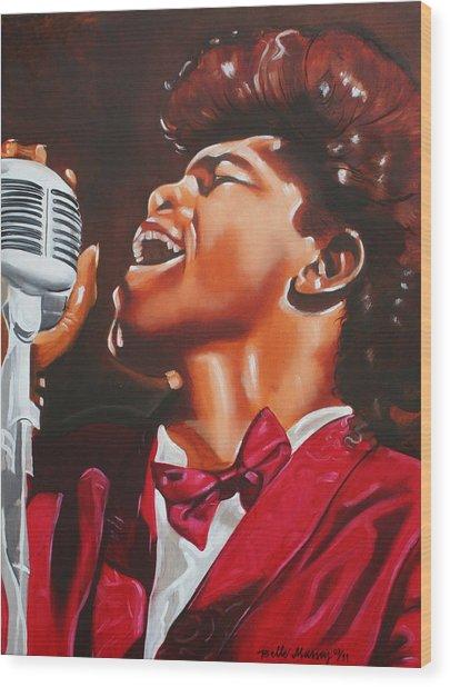 James Brown King Of Soul Wood Print