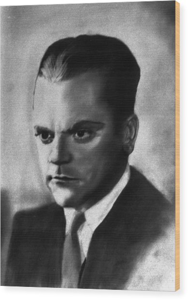 James Cagney Wood Print