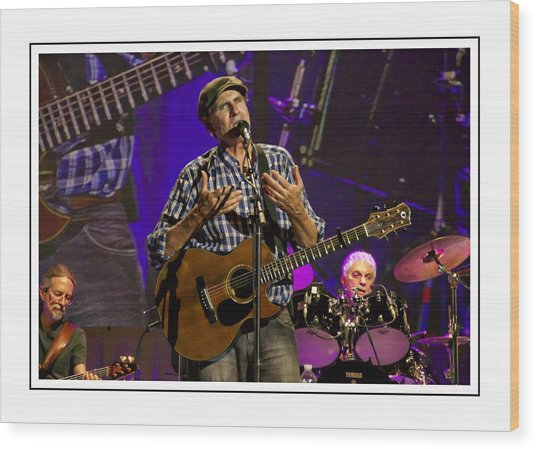 James Taylor Sweet Wood Print