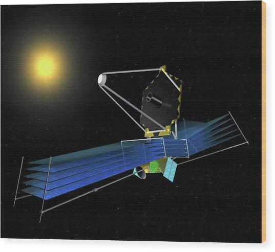 James Webb Space Telescope Wood Print