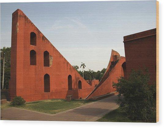 Jantar Mantar Wood Print