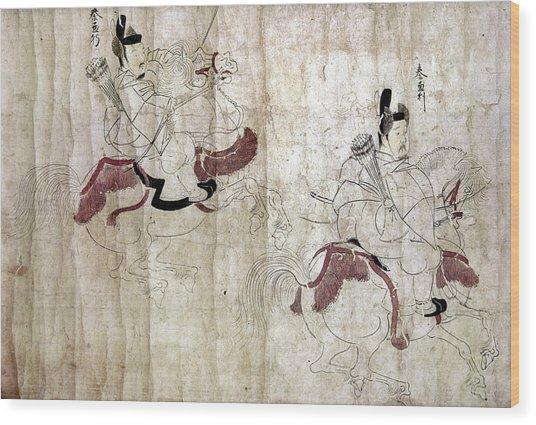 Japan Imperial Bodyguards Wood Print