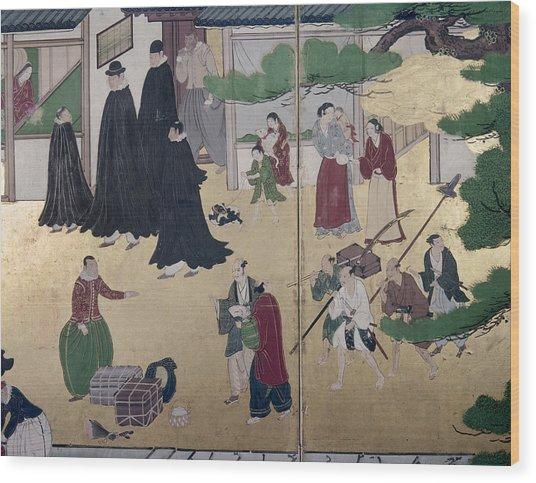 Japan Portuguese, C1600 Wood Print
