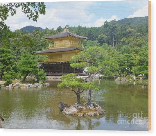 Japan Wood Print