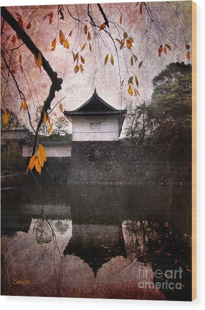 Japanese Autumn Wood Print