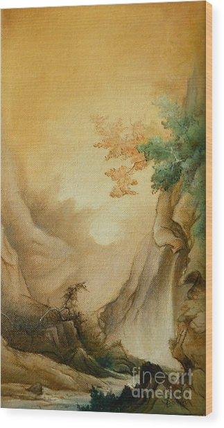 Japanese Autumn Wood Print