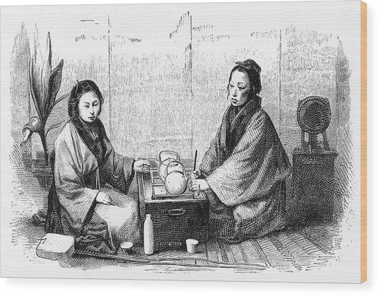 Japanese Tea Ceremony (sado);  A Custom Wood Print