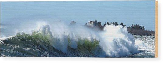 Jaquish Wave Wood Print