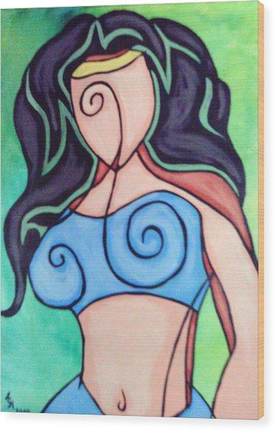 Jasmine Wood Print