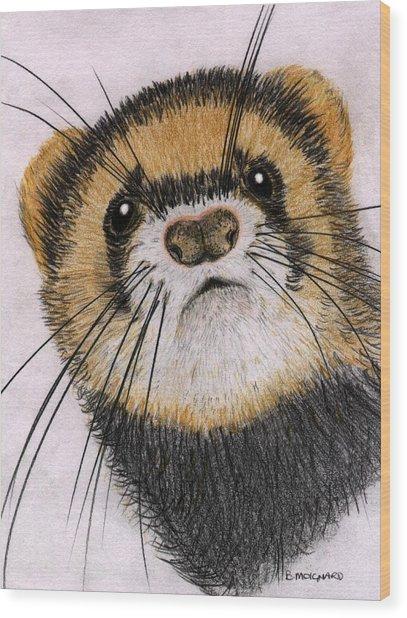 Jasper Wood Print