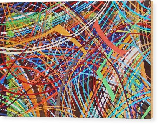 Jazz  One Wood Print